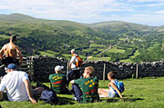 Walking activity for groups in Brecon Beacons