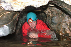 Group caving in Brecon Beacons National Park